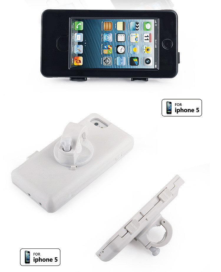 Bicycle Handle Bar Water-proof Case for iPhone 5 - CELLRIZON  - 2