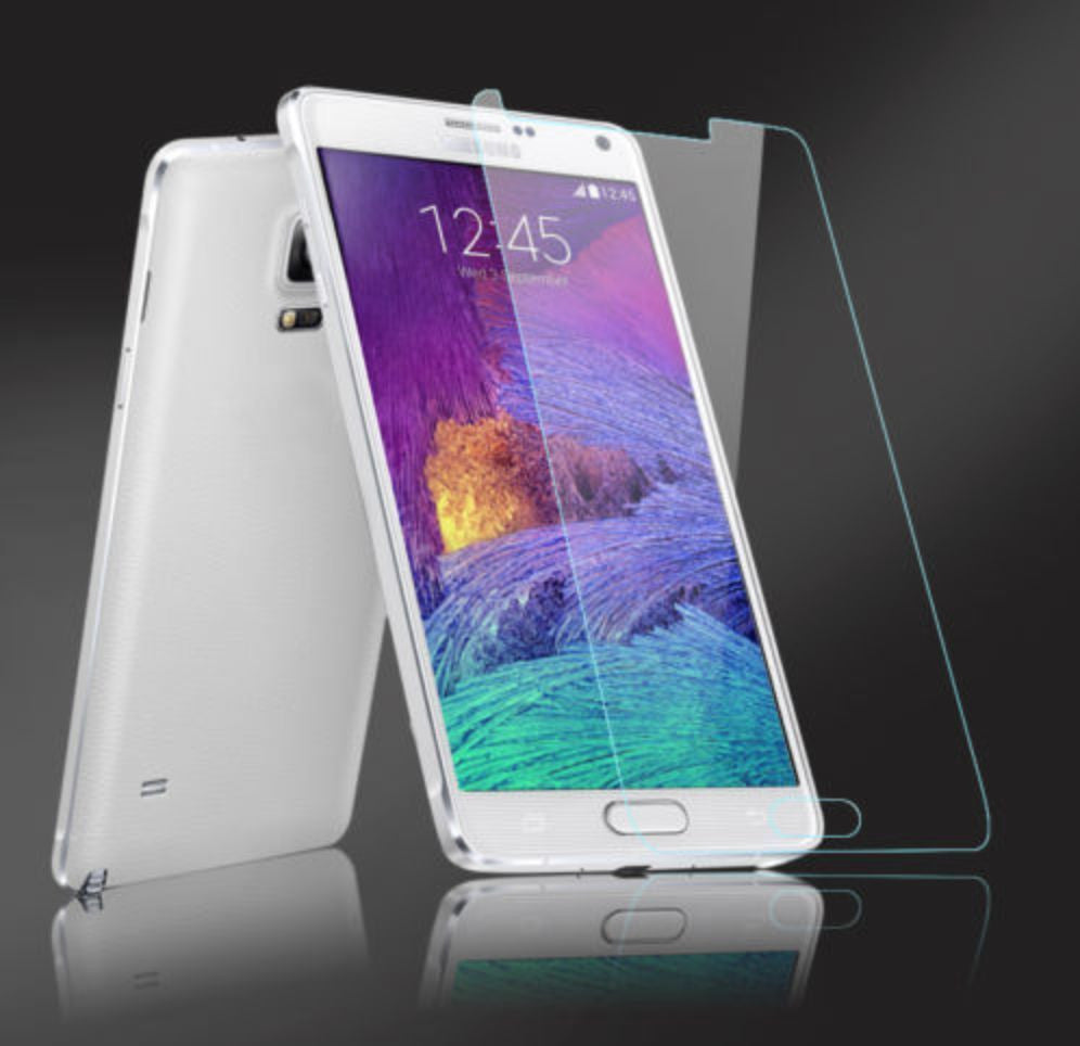 Premium Ultra Clear Temper Glass Screen Protector For Samsung Galaxy Note 4 - CELLRIZON