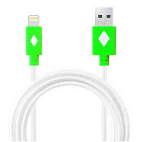 1m LED Light Flash Cable For iPhone 5 | 5c | 5s | 6 | 6plus - CELLRIZON  - 3