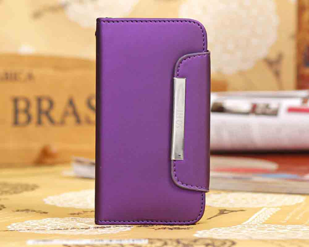 iphone 6 Scrub PU leather wallet case - CELLRIZON
