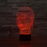 Buddha 7 Color Changing 3D Novelty LED Lamp - CELLRIZON  - 6