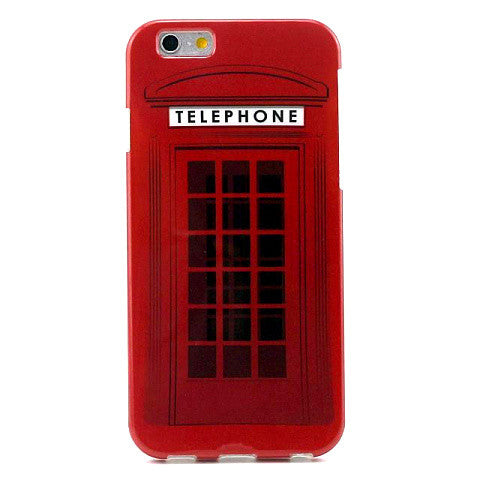 Telephone Booth TPU Case for iPhone 6 Plus 5.5''/6S 4.7'' - CELLRIZON