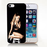 Ariana Grande Sexy Pattern Hard Skin Case Cover For iPhone - CELLRIZON