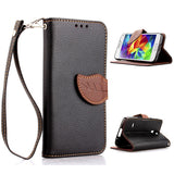 leaves lock wallet standard case for Samsung Galaxy S5 mini - CELLRIZON
