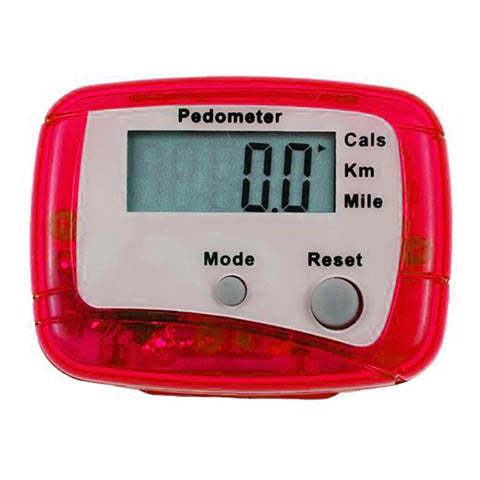 Black LCD Step Calorie Counter Sport Pedometer - Rama Deals - 5