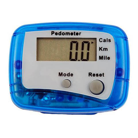 Black LCD Step Calorie Counter Sport Pedometer