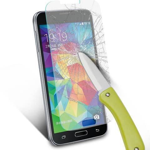 Tempered Glass Screen Cover Protector For Samsung Galaxy S5 - CELLRIZON  - 6