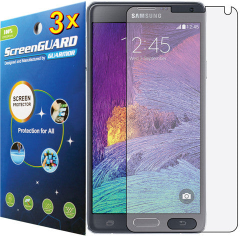 3x Clear LCD Screen Protector Guard Cover Film for Samsung Galaxy Note 4 SM-N910 - CELLRIZON