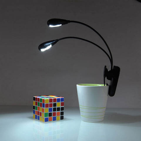 Clip Led Light For Music Stands And Book Reading Light - CELLRIZON