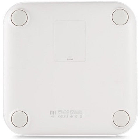 Bluetooth V4.0 Mi Smart Weight Scale by 4 x AA Battery  -  WHITE - CELLRIZON  - 3