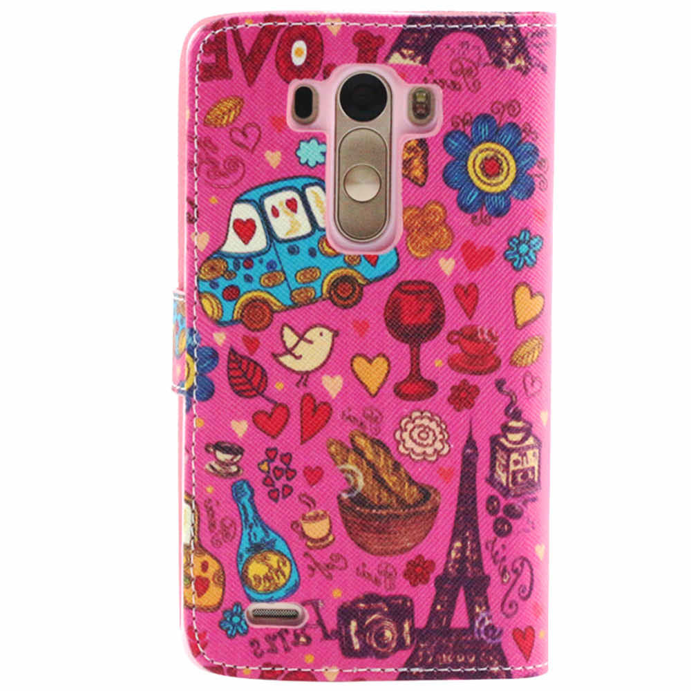 Wallet Leather Case for LG G3 - CELLRIZON
