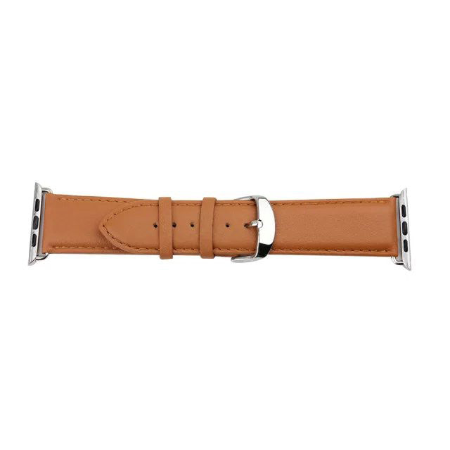 38mm Leather Band With Adapter for Apple Watch - CELLRIZON