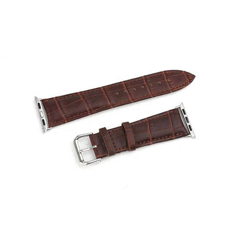 38mm Genuine Leather Strap With Adapter for Apple Watch - CELLRIZON