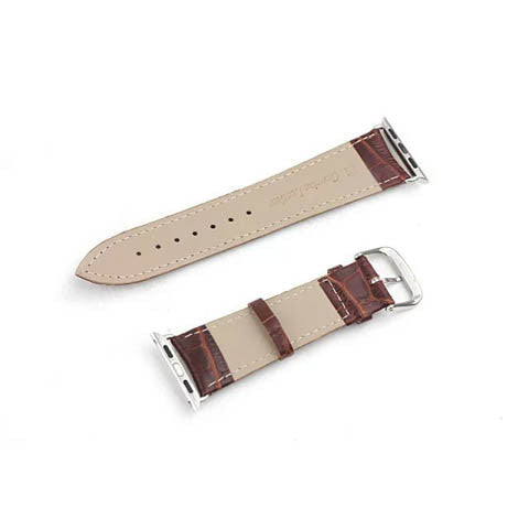 42mm Genuine Leather Strap With Adapter for Apple Watch - CELLRIZON