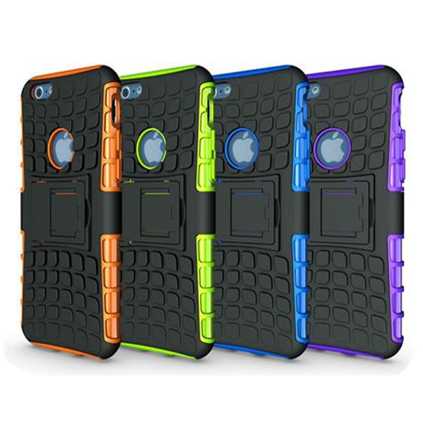 Clearance Anti-Shock Armor Hybrid Armor Stand Case for iPhone 6S Plus 5.5''