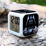 Colorful Star Wars Alarm Clock - Assorted Styles - Rama Deals - 2