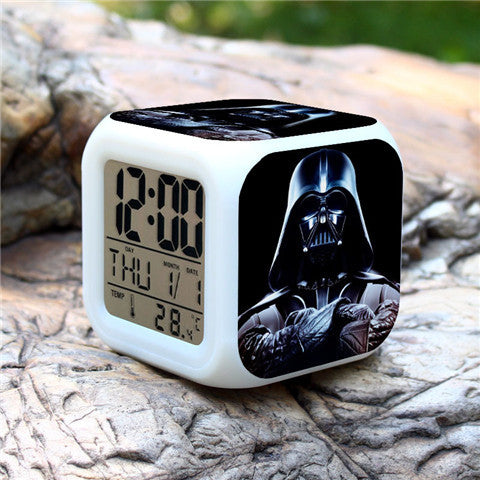 Clearance Colorful Star Wars Alarm Clock - Assorted Styles