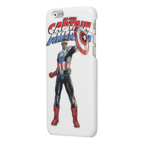 Captain America Back Cover Case For Apple Phone - CELLRIZON