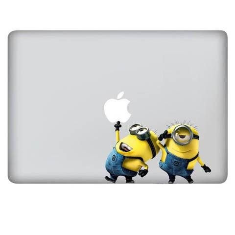 "Minions cartoon diy water decal stickers for macbook pro 13 ""inch - CELLRIZON"