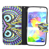 Owl Leather Case for Samsung Galaxy S5 - CELLRIZON