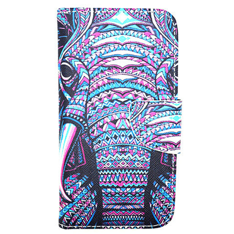 Elephant imitation Leather Case for Samsung Galaxy S5 - CELLRIZON