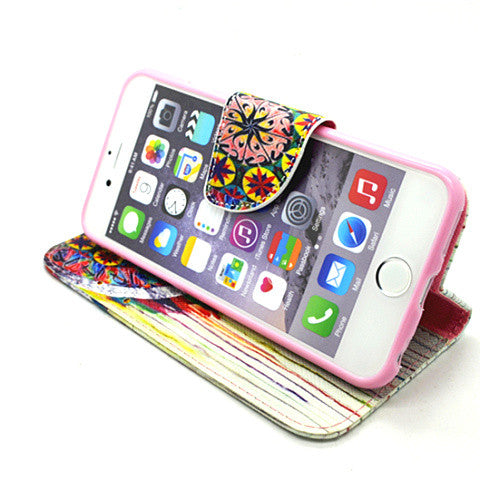 Wallet Leather Case for iPhone 6 - CELLRIZON