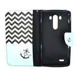 Side Flip Leather Case for LG G3 - CELLRIZON