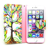 Tree Leather Case for iPhone 6 4.7