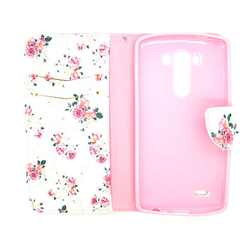 Floral Blossom imitation Leather Case for LG G3 - CELLRIZON