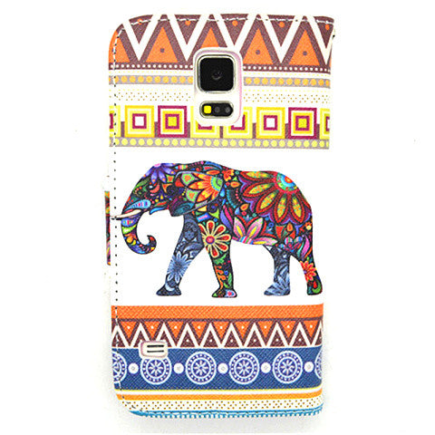 Tribe Leather Case for Samsung Galaxy S5 - CELLRIZON