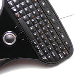 ABS+silicone 5901 mini wireless keyboard with touch mouse - CELLRIZON