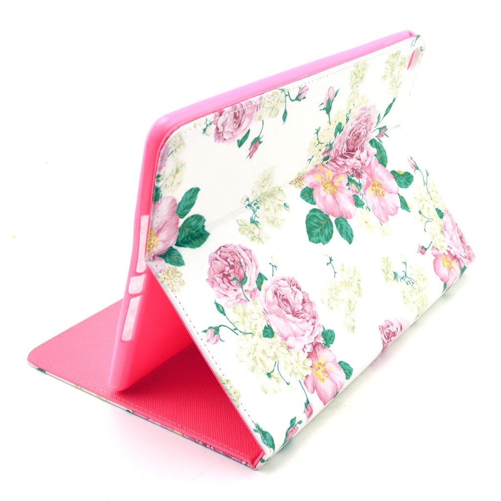 Pink Flower Leather Case for iPad Air2 - CELLRIZON