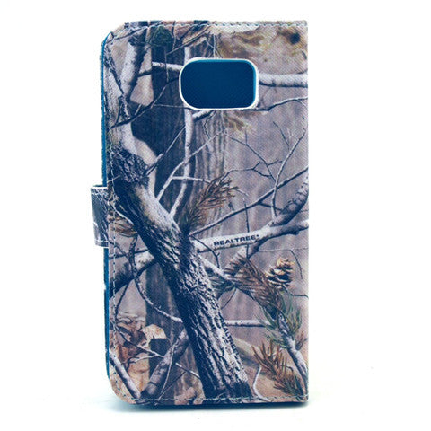 Tree  PU Stand  Leather Case for Samsung S6 - CELLRIZON
