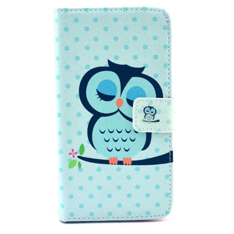 Sleeping Cat  Stand Leather Case For Samsung S6 - CELLRIZON