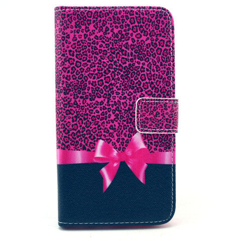 Bowknot Stand Artificial Leather Case for Samsung S6/S6 Edge - CELLRIZON