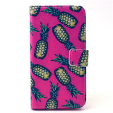 Pineapple Stand Leather Case  For  Samsung S6/ S6 Edge - CELLRIZON