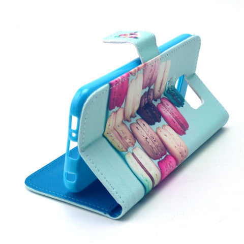 Cake Stand Artificial Leather Case for Samsung S6/S6 Edge - CELLRIZON