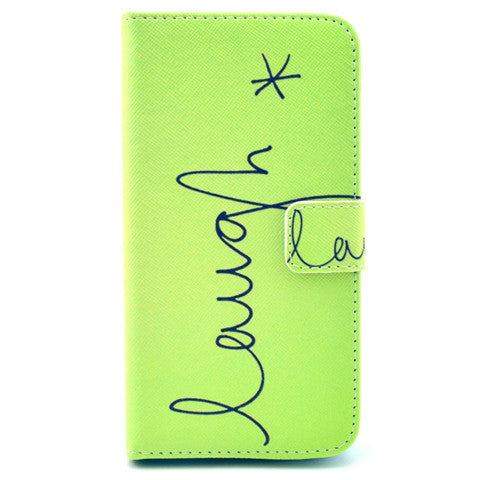 Enjoy Stand imitation Leather Case For Samsung S5 - CELLRIZON