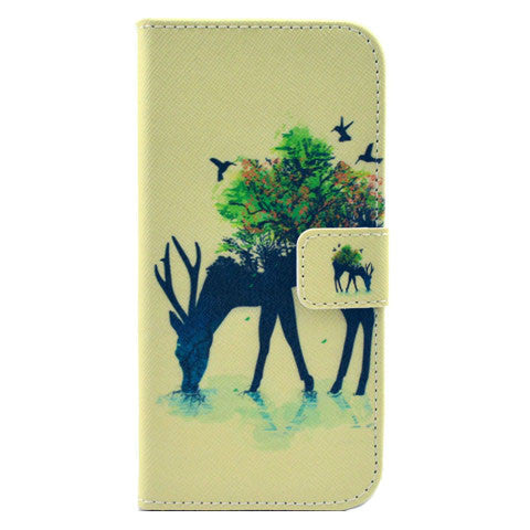 Deer Stand imitation Leather Case for iPhone 6/6 Plus - CELLRIZON