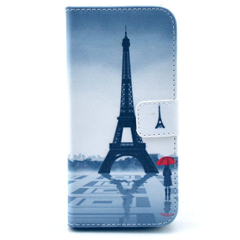 "Eiffel Tower imitation Leather Case for iPhone 6 4.7""/6 Plus - CELLRIZON  - 1"