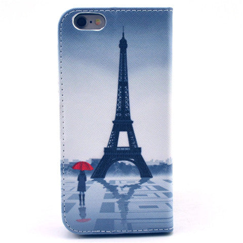 "Eiffel Tower imitation Leather Case for iPhone 6 4.7""/6 Plus - CELLRIZON  - 2"