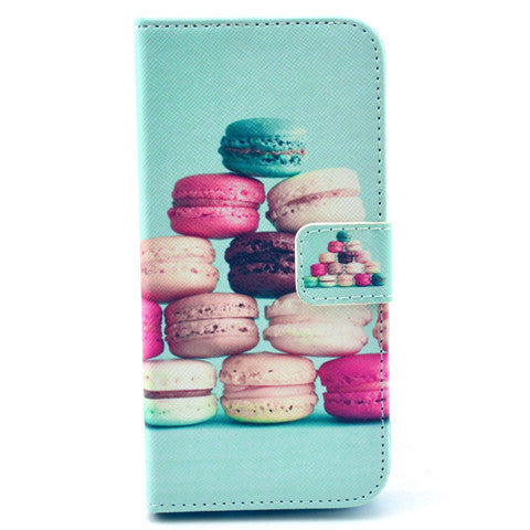 Macaron Cake Leather Case for iPhone 6 Plus - CELLRIZON