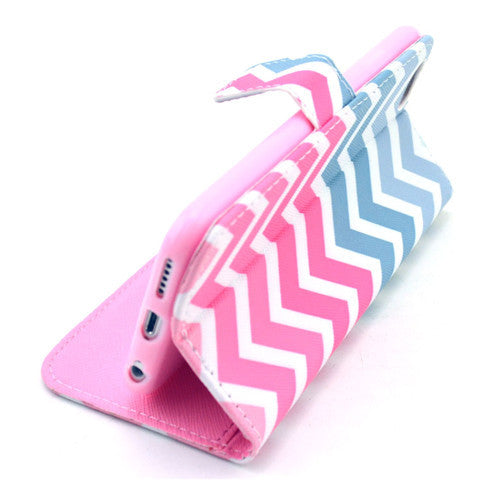 Painted Leather Stand Case for iPhone 6 Plus - CELLRIZON