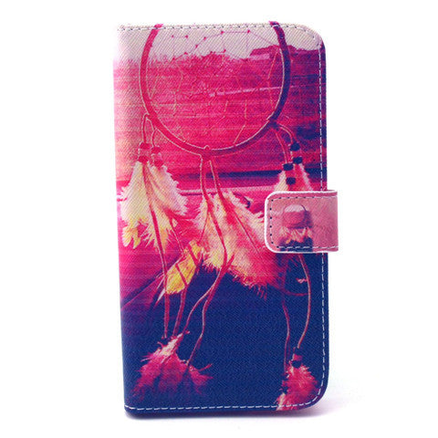 Setting Sun Stand Leather Case For Samsung S6 Edge - CELLRIZON