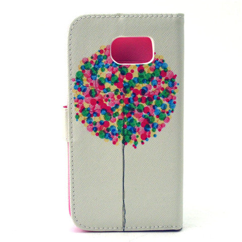 Balloon Artificial Leather Case for Samsung S6 - CELLRIZON