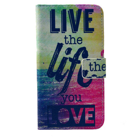 The Sea Life Stand Leather Case For Samsung S6 - CELLRIZON