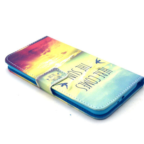 Sunrise Stand Leather Case For Samsung S6 - CELLRIZON