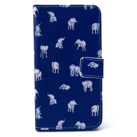 Indian Elephant Stand Leather Case For Samsung S6/S6 Edge - CELLRIZON