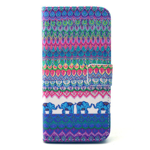 The elephant tribe Stand Leather Case For iPhone 6 - CELLRIZON