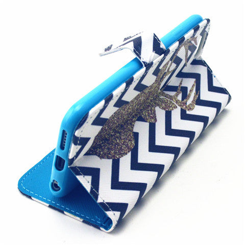 Deer imitation Leather Case for iPhone 6 Plus - CELLRIZON